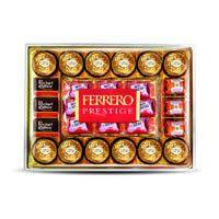 Bombones T28 FERRERO Prestige, 28 uds., caja 329 g